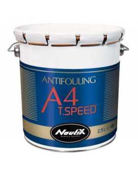 A4 T.Speed Hartantifouling  Black 2,50l