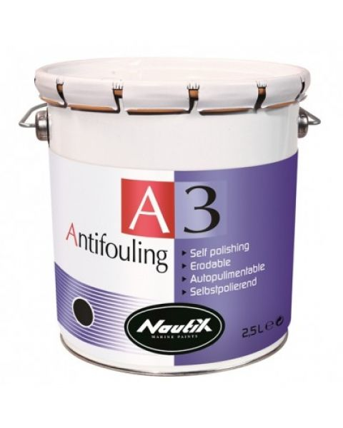 A3 Selbstpolierendes Antifouling white 2,50l